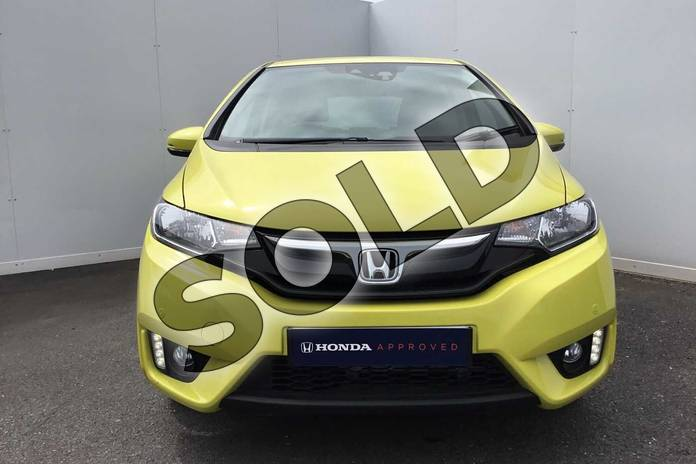 Image six of this 2017 Honda Jazz Hatchback 1.3 EX 5dr in Attract Yellow at Listers Honda Coventry