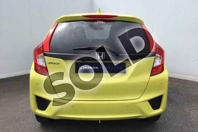 Image seven of this 2017 Honda Jazz Hatchback 1.3 EX 5dr in Attract Yellow at Listers Honda Coventry