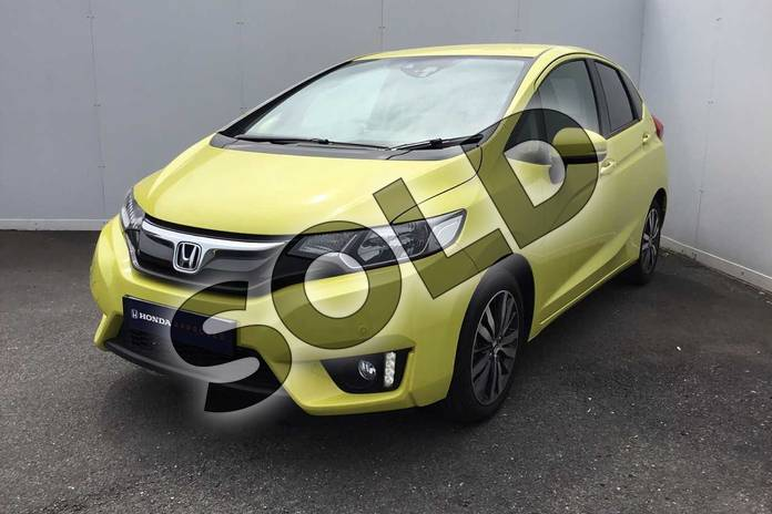 Image ten of this 2017 Honda Jazz Hatchback 1.3 EX 5dr in Attract Yellow at Listers Honda Coventry
