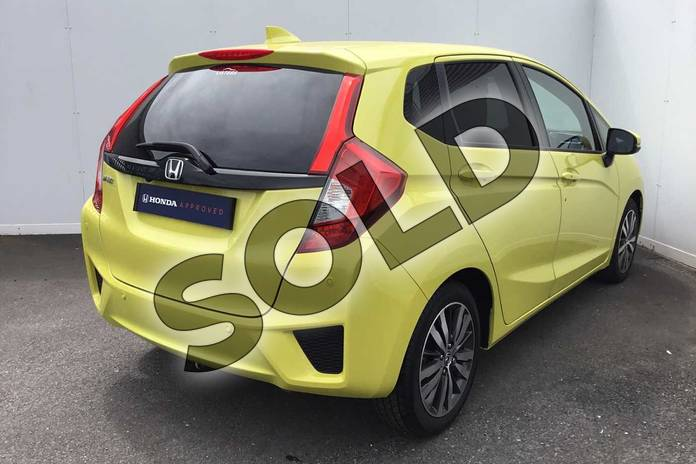 Image twelve of this 2017 Honda Jazz Hatchback 1.3 EX 5dr in Attract Yellow at Listers Honda Coventry