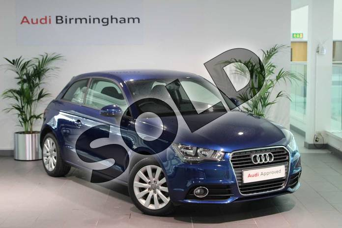 Picture of Audi A1 1.4 TFSI Sport 3dr in Scuba Blue, metallic