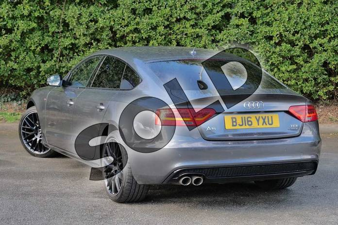 Image three of this 2016 Audi A5 Sportback Special Editions 2.0 TDI 190 Quattro Black Ed Plus 5dr S Tronic 5st in Daytona Grey Pearlescent at Worcester Audi
