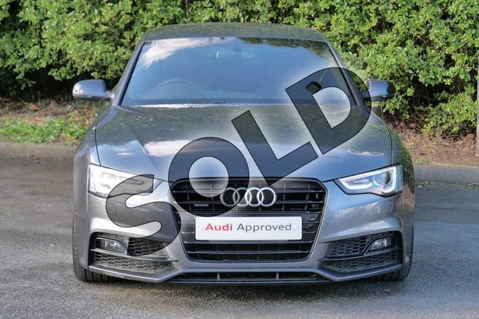 Image seven of this 2016 Audi A5 Sportback Special Editions 2.0 TDI 190 Quattro Black Ed Plus 5dr S Tronic 5st in Daytona Grey Pearlescent at Worcester Audi