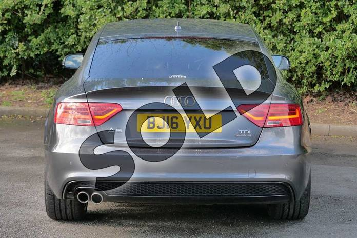 Image nine of this 2016 Audi A5 Sportback Special Editions 2.0 TDI 190 Quattro Black Ed Plus 5dr S Tronic 5st in Daytona Grey Pearlescent at Worcester Audi