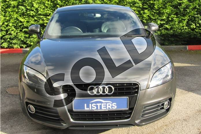 Image two of this 2012 Audi TT Coupe 1.8T FSI Sport 2dr in Metallic - Oolong Grey at Listers U Boston