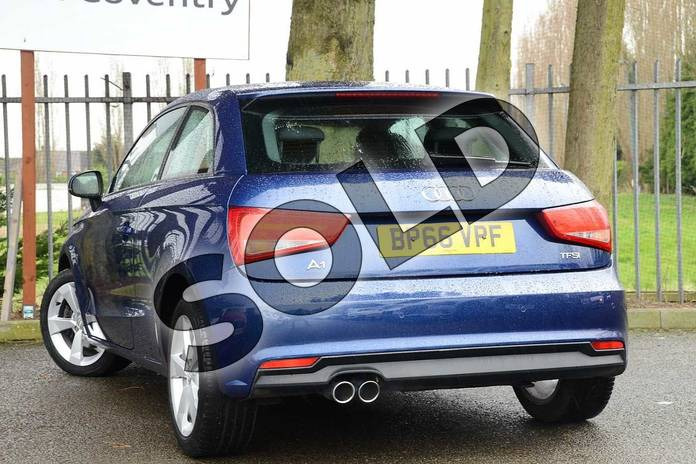Image three of this 2016 Audi A1 Hatchback 1.4 TFSI Sport 3dr in Scuba Blue Metallic at Coventry Audi