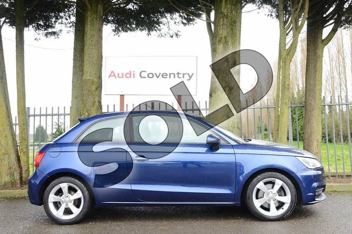 Image four of this 2016 Audi A1 Hatchback 1.4 TFSI Sport 3dr in Scuba Blue Metallic at Coventry Audi