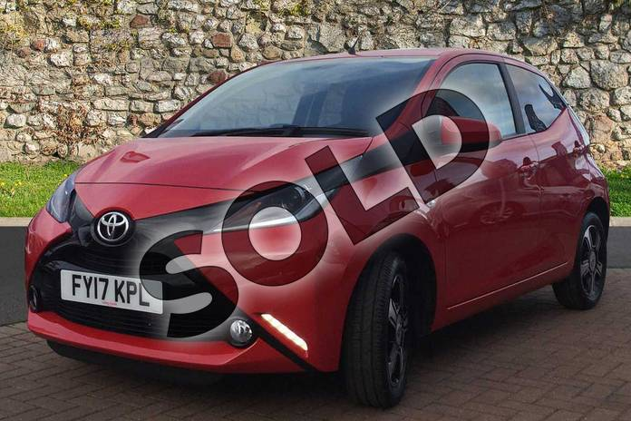Image three of this 2017 Toyota AYGO Hatchback Special Editions 1.0 VVT-i X-Clusiv 3 5dr in Red Pop at Listers Toyota Grantham