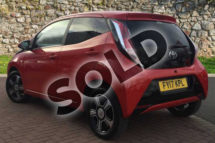 Image four of this 2017 Toyota AYGO Hatchback Special Editions 1.0 VVT-i X-Clusiv 3 5dr in Red Pop at Listers Toyota Grantham