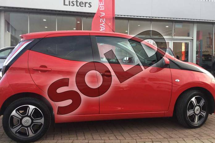 Image sixteen of this 2017 Toyota AYGO Hatchback Special Editions 1.0 VVT-i X-Clusiv 3 5dr in Red Pop at Listers Toyota Grantham