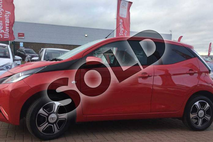 Image seventeen of this 2017 Toyota AYGO Hatchback Special Editions 1.0 VVT-i X-Clusiv 3 5dr in Red Pop at Listers Toyota Grantham
