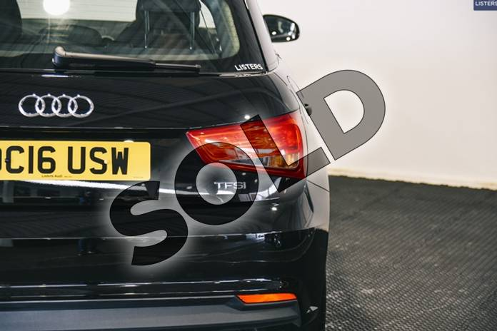 Image nineteen of this 2016 Audi A1 Sportback 1.0 TFSI Sport 5dr in Solid - Brilliant black at Listers U Stratford-upon-Avon
