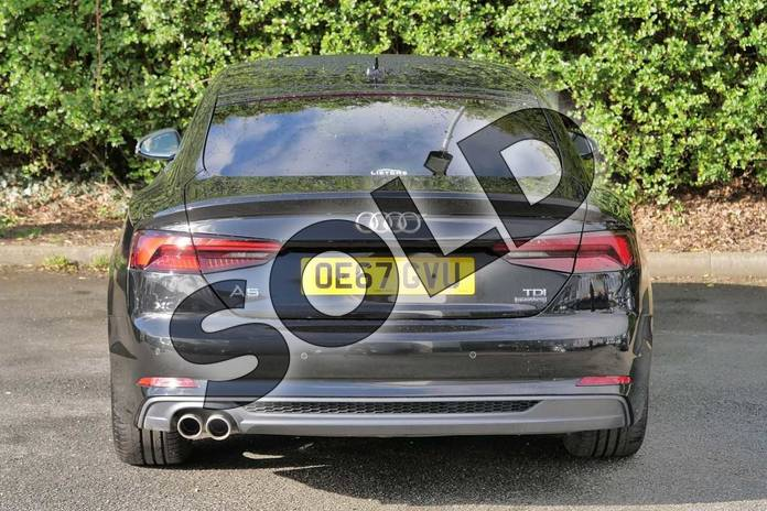 Image nine of this 2017 Audi A5 Diesel Sportback 2.0 TDI Quattro S Line 5dr S Tronic in Myth Black Metallic at Worcester Audi