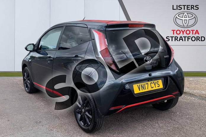 Image four of this 2017 Toyota AYGO Hatchback 1.0 VVT-i X-Press 5dr in Grey at Listers Toyota Stratford-upon-Avon
