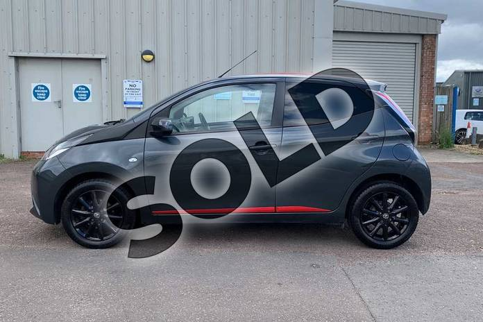 Image seventeen of this 2017 Toyota AYGO Hatchback 1.0 VVT-i X-Press 5dr in Grey at Listers Toyota Stratford-upon-Avon