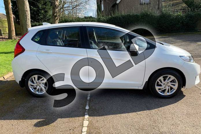 Image five of this 2017 Honda Jazz Hatchback 1.3 SE 5dr CVT in White Orchid at Listers Honda Coventry
