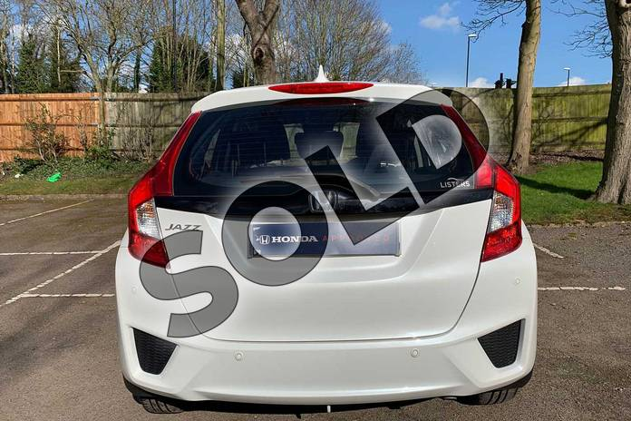 Image seven of this 2017 Honda Jazz Hatchback 1.3 SE 5dr CVT in White Orchid at Listers Honda Coventry