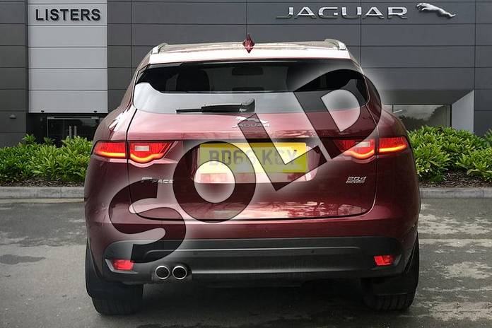 Image six of this 2017 Jaguar F-PACE Diesel Estate 2.0d R-Sport 5dr Auto AWD in Montalcino Red at Listers Jaguar Droitwich