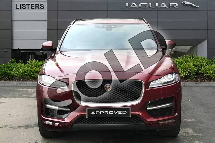 Image seven of this 2017 Jaguar F-PACE Diesel Estate 2.0d R-Sport 5dr Auto AWD in Montalcino Red at Listers Jaguar Droitwich