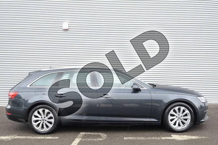 Image four of this 2017 Audi A4 Diesel Avant 2.0 TDI Ultra SE 5dr in Manhattan Grey Metallic at Coventry Audi
