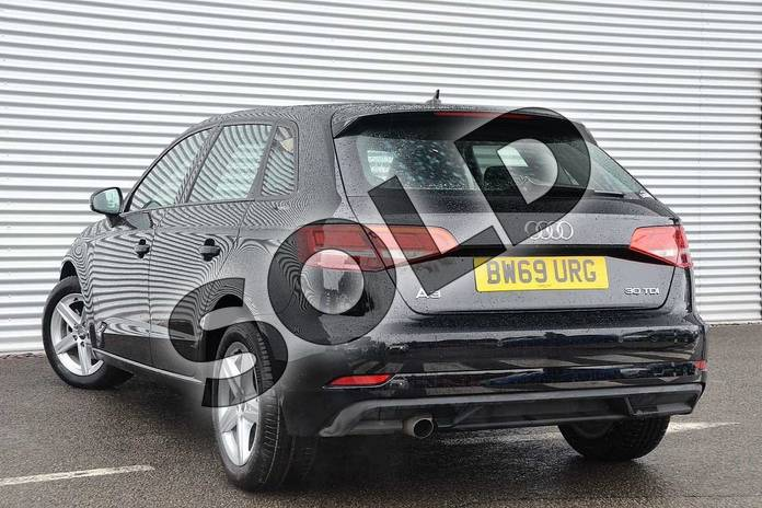 Image three of this 2020 Audi A3 Diesel Sportback 30 TDI 116 SE Technik 5dr in Brilliant Black at Coventry Audi