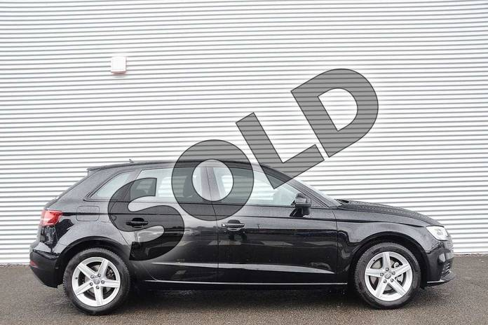 Image four of this 2020 Audi A3 Diesel Sportback 30 TDI 116 SE Technik 5dr in Brilliant Black at Coventry Audi