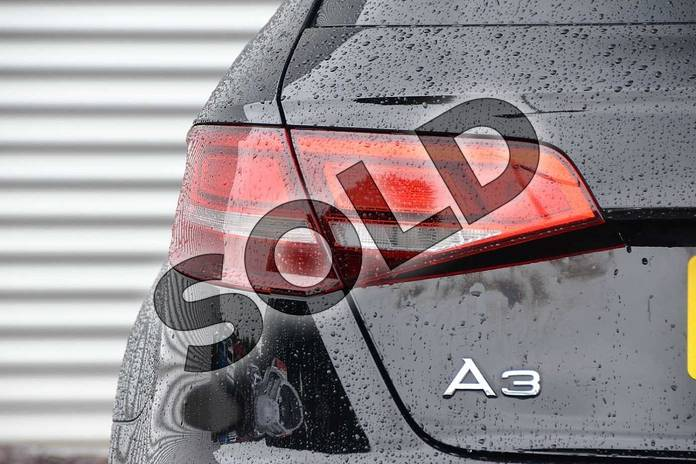 Image eleven of this 2020 Audi A3 Diesel Sportback 30 TDI 116 SE Technik 5dr in Brilliant Black at Coventry Audi