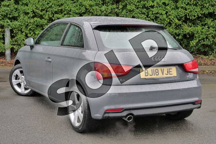 Image three of this 2018 Audi A1 Hatchback 1.0 TFSI Sport 3dr in Nano Grey Metallic at Worcester Audi