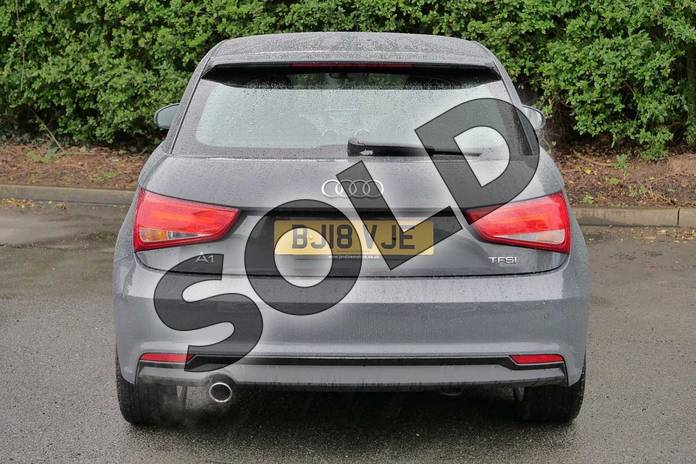 Image nine of this 2018 Audi A1 Hatchback 1.0 TFSI Sport 3dr in Nano Grey Metallic at Worcester Audi