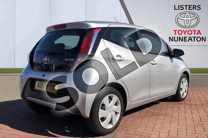 Image two of this 2017 Toyota AYGO Hatchback 1.0 VVT-i X-Play 5dr in Silver at Listers Toyota Nuneaton