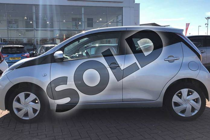 Image seventeen of this 2017 Toyota AYGO Hatchback 1.0 VVT-i X-Play 5dr in Silver at Listers Toyota Nuneaton
