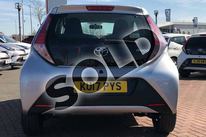 Image nineteen of this 2017 Toyota AYGO Hatchback 1.0 VVT-i X-Play 5dr in Silver at Listers Toyota Nuneaton