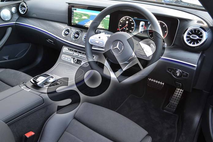Image twenty-six of this 2020 Mercedes-Benz E Class Diesel Coupe E400d 4Matic AMG Line Premium Plus 2dr 9G-Tronic in obsidian black metallic at Mercedes-Benz of Hull