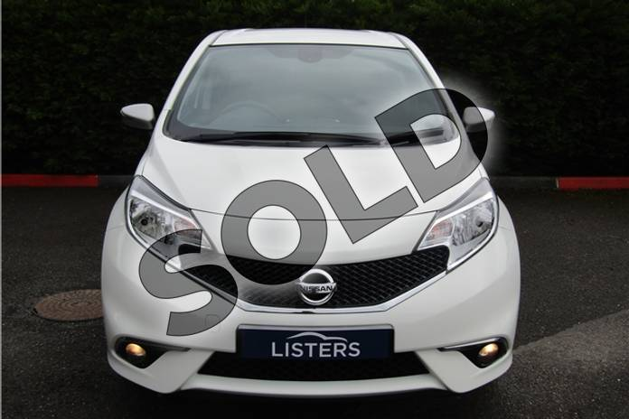 Image two of this 2015 Nissan Note Hatchback 1.2 N-Tec 5dr in Pearl - Storm white at Listers U Boston