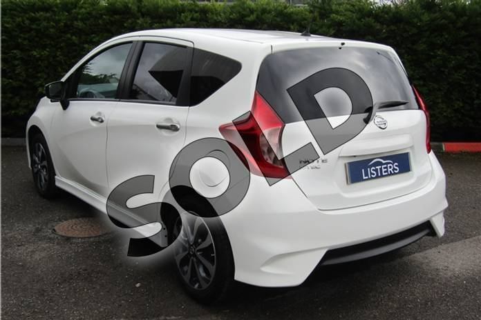Image four of this 2015 Nissan Note Hatchback 1.2 N-Tec 5dr in Pearl - Storm white at Listers U Boston