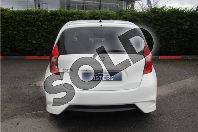 Image five of this 2015 Nissan Note Hatchback 1.2 N-Tec 5dr in Pearl - Storm white at Listers U Boston