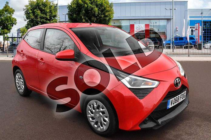 Picture of Toyota AYGO 1.0 VVT-i X-Play 5dr in Red Pop