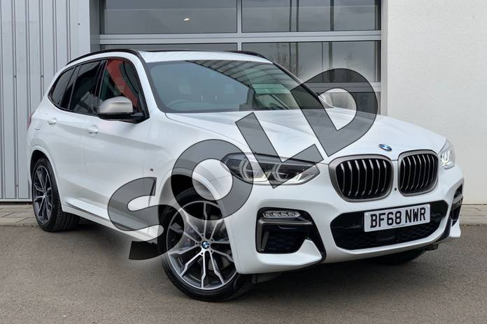 Picture of BMW X3 M40d in Alpine White