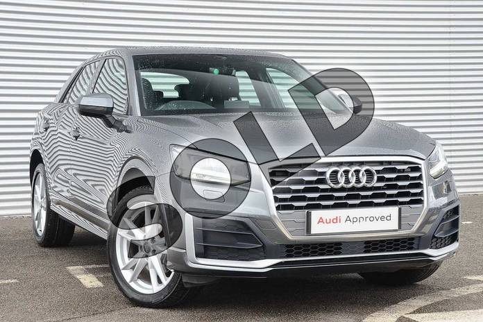 Picture of Audi Q2 1.4 TFSI S Line 5dr in Daytona Grey Pearlescent