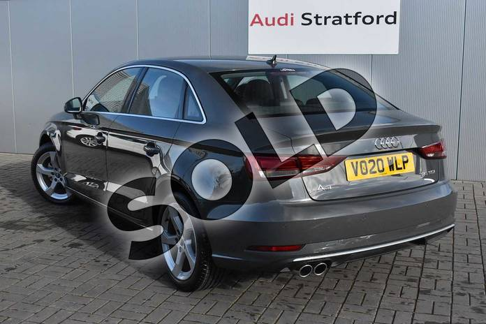 Image three of this 2020 Audi A3 Diesel Saloon 35 TDI Sport 4dr in Nano Grey Metallic at Stratford Audi