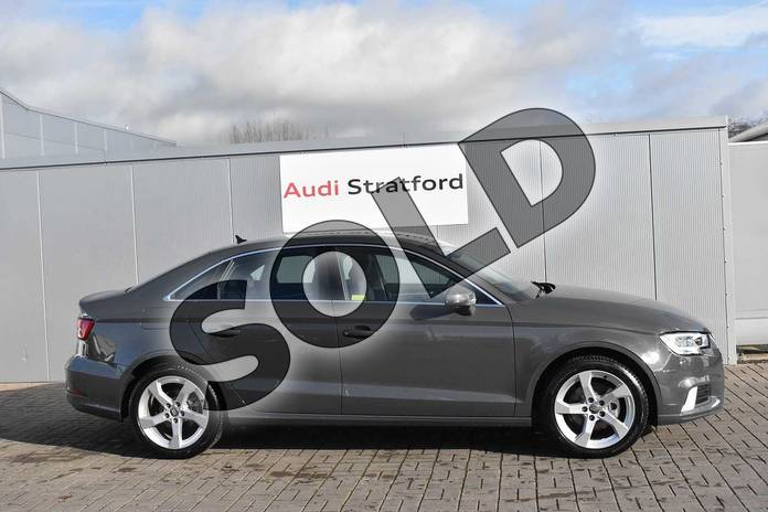 Image four of this 2020 Audi A3 Diesel Saloon 35 TDI Sport 4dr in Nano Grey Metallic at Stratford Audi