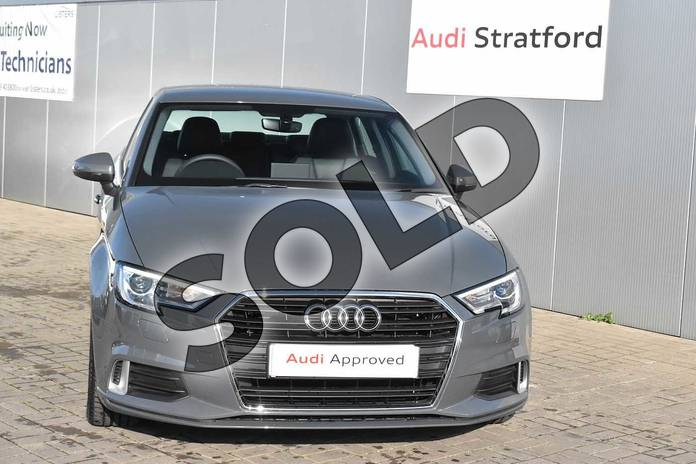 Image seven of this 2020 Audi A3 Diesel Saloon 35 TDI Sport 4dr in Nano Grey Metallic at Stratford Audi