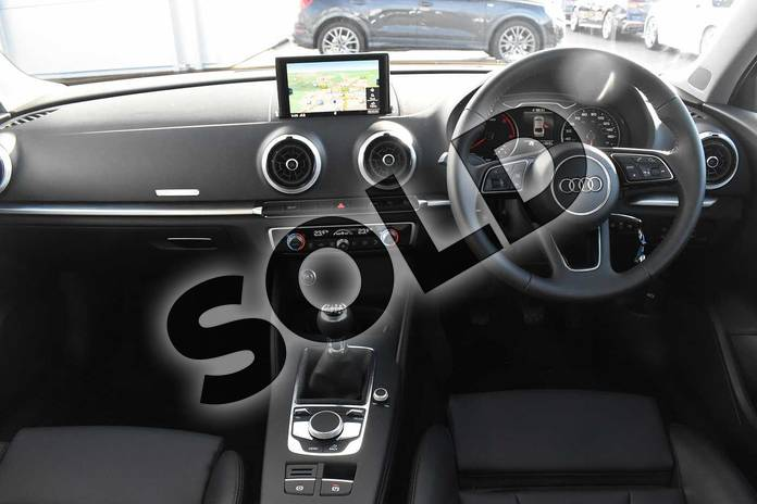 Image nine of this 2020 Audi A3 Diesel Saloon 35 TDI Sport 4dr in Nano Grey Metallic at Stratford Audi