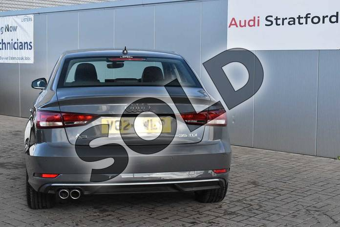 Image twelve of this 2020 Audi A3 Diesel Saloon 35 TDI Sport 4dr in Nano Grey Metallic at Stratford Audi