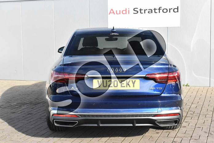 Image twelve of this 2020 Audi A4 Diesel Saloon 35 TDI S Line 4dr S Tronic in Navarra Blue Metallic at Stratford Audi