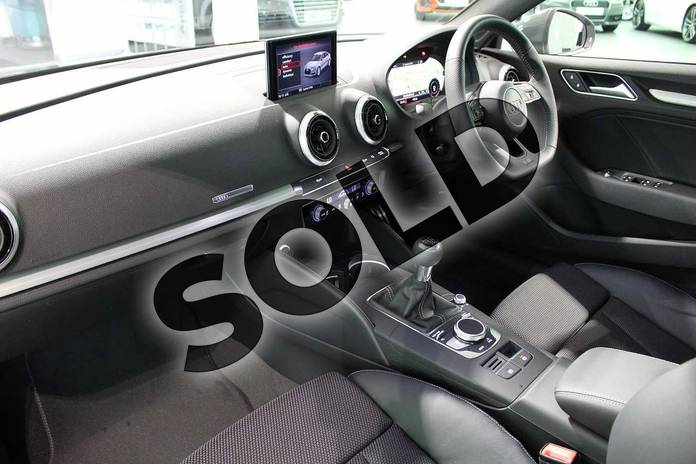 Image two of this 2020 Audi A3 Diesel Saloon 30 TDI 116 S Line 4dr in Nano Grey Metallic at Birmingham Audi