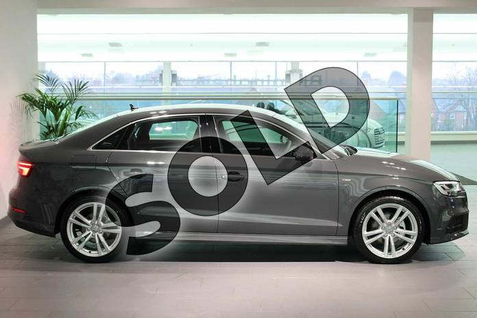 Image four of this 2020 Audi A3 Diesel Saloon 30 TDI 116 S Line 4dr in Nano Grey Metallic at Birmingham Audi