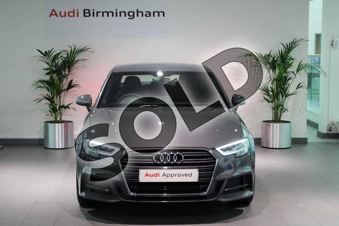 Image seven of this 2020 Audi A3 Diesel Saloon 30 TDI 116 S Line 4dr in Nano Grey Metallic at Birmingham Audi