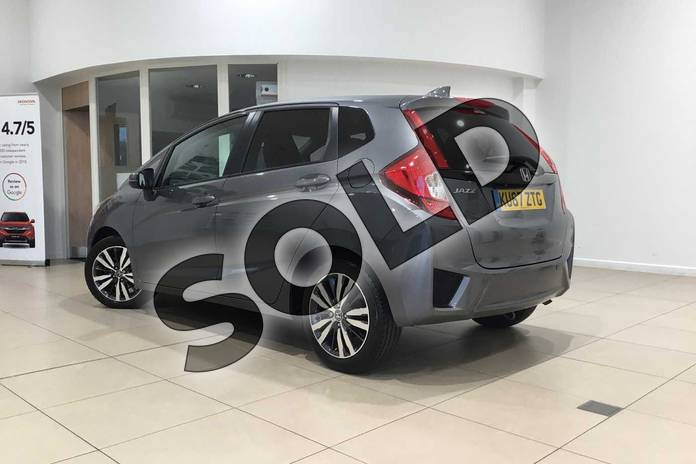 Image three of this 2017 Honda Jazz Hatchback 1.3 EX Navi 5dr CVT in Polished Metal at Listers Honda Northampton