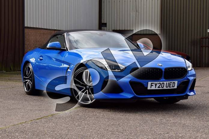 Picture of BMW Z4 sDrive30i M Sport in Misano Blue metallic